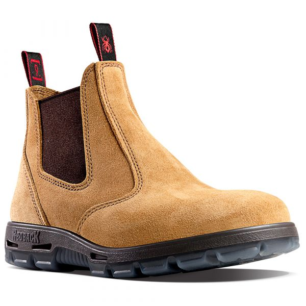 USBBA Redback Safety Suede Boots